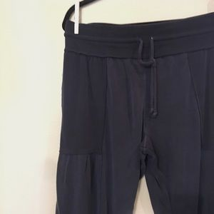 Free People Pants & Jumpsuits - Free People Navy Joggers